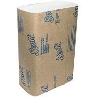 Купить полотенце бумажное листовое 1-сл 250 лист/уп 240х200 мм multifold-сложения scott белое kimberly-clark 1/16 в Москве