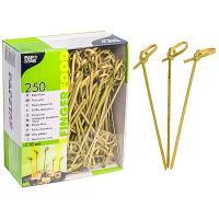 Купить пика декоративная узелок н100 мм 250 шт/уп для канапе бамбук papstar 1/6 в Москве