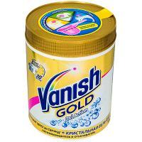 Купить пятновыводитель порошковый 1кг для белого белья vanish gold oxi action benckiser 1/6 в Москве