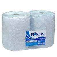 Купить полотенце бумажное 2-сл 350 м в рулоне*2 н330хd245 мм focus jumbo industrial белое hayat 1/1 в Москве