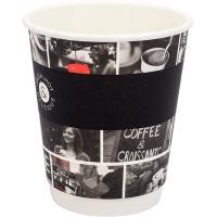 Купить стакан бумажный 300мл d90 мм 2-сл для горячих напитков cafe noir huhtamaki 1/25/600 в Москве