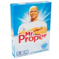 Купить порошок моющий для полов 400г mr.proper с отбеливателем p&g 1/20 в Москве