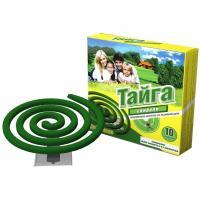 Купить средство от комаров 10 шт/уп спираль тайга gf 1/60 в Москве