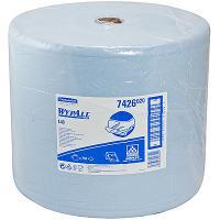 Купить материал протирочный бумажный 3-сл 285 м в рулоне н320хd380 мм wypall l30 синий kimberly-clark 1/1 в Москве