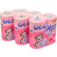 Купить набор бумаги туалетной 2-сл 4 рул/уп*3 мягкий знак comfort сакура сцбк 1/1 в Москве