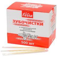 Купить зубочистки н65 мм 500 шт/уп ментоловые в пленке в индивидуальной упак 1/100 в Москве