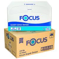 Купить покрытие бумажное 250 шт/уп*10 для сиденья на унитаз focus белое hayat 1/1 в Москве