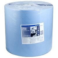 Купить материал протирочный бумажный 2-сл 510 м в рулоне н370хd390 мм tork синий sca 1/1 в Москве