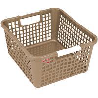 Купить корзинка дхшхв 258х223х125 мм пластик коричневая bora 1/48 в Москве