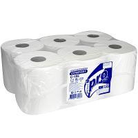 Купить полотенце бумажное 1-сл 275 м в рулоне*6 с центр вытяжением н200хd195 мм protissue 1/1 в Москве