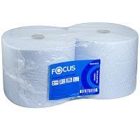 Купить полотенце бумажное 2-сл 350 м в рулоне н240хd225 мм focus jumbo industrial hayat 1/2 в Москве