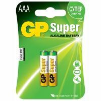 Купить батарейка aaa 2 шт/уп gp super в блистере 1/10 в Москве