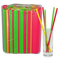 Купить соломка (трубочка) для коктейля н240хd7 мм 250 шт/уп pp цветная 1/23 в Москве