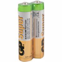 Купить батарейка aaa 2 шт/уп gp super в пленке 1/10 в Москве