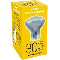 Купить лампа накаливания е14 теплый свет 30вт 220v r39 зеркальная старт 1/100 в Москве