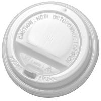 Купить крышка для стакана d90 мм с клапаном ps белая 1/100/1200 в Москве