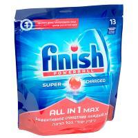 Купить таблетки универсальные 13 шт/уп для посудомоечных машин finish calgonit all in 1 пакет benckiser 1/7 в Москве