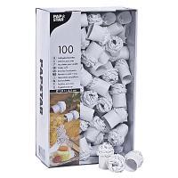 Купить папильотка d25 мм 100 шт/уп для дичи бумага белая papstar 1/10 в Москве