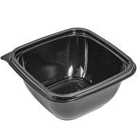 Купить контейнер 500мл дхшхв 126х126х60 мм без крышки квадратный pet черный сп 1/50/500 в Москве