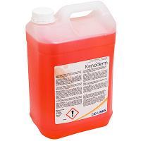 Купить мыло жидкое 5л прозрачное с дезинфицирующим эффектом kenoderm канистра cid lines 1/4 в Москве