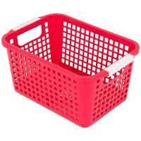 Купить корзинка дхшхв 225х170х125 мм пластик красная bora 1/48 в Москве