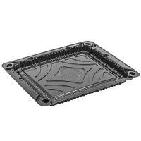 Купить упаковка для суши дхшхв 190х160х10 мм без крышки прямоугольная черная п 1/225 в Москве