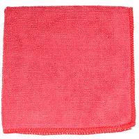Купить салфетка микроволоконная дхш 290х290 мм без упаковки красная textop 1/50/300 в Москве