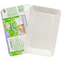 Купить тарелка бумажная дхш 200х130 мм картон белый/молоко 1/1400 в Москве