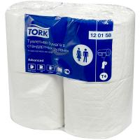 Купить бумага туалетная 2-сл 4 рул/уп tork t4 advanced натурально-белая sca 1/24 в Москве
