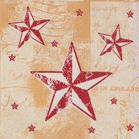 Купить салфетка бумажная 33х33 см 3 -сл 50 шт/уп звездное сияние papstar 1/12 в Москве