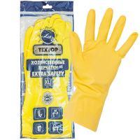 Купить перчатки хозяйственные xl особопрочные extra safety латекс textop 1/12/144 в Москве