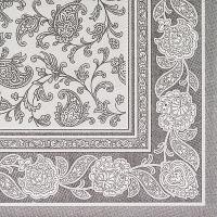 Купить салфетка бумажная серая 40х40 см 3-сл 20 шт/уп royal collection papstar 1/8 в Москве