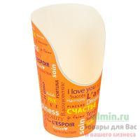 Упаковка для картофеля фри Н130 мм с дизайном FIESTA КАРТОННАЯ PPS 1/25/300