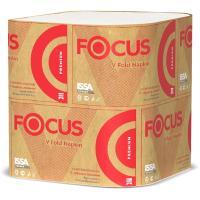 Купить салфетка бумажная 2-сл 200 шт/уп 230х168 мм для диспенсера focus premium белая hayat 1/15 в Москве