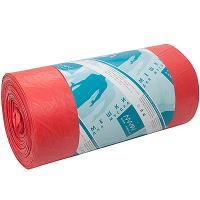 Купить мешок (пакет) мусорный 120л 700х1100 мм 20 мкм 50 шт/рул пнд красный almin 1/12 в Москве