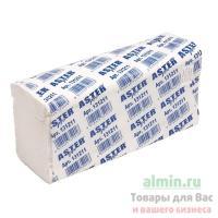 Полотенце бумажное листовое 2-сл 150 лист/уп 230х240 мм Z-сложения ASTER PRO Z2 F БЕЛОЕ ASTER 1/25