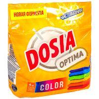 Купить порошок стиральный 4кг dosia optima color в п/п benckiser 1/4 в Москве