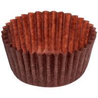 Купить капсула бумажная (тарталетка) круглая н18хd30 мм коричневая 1/2000/30000 в Москве