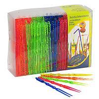 Купить пика декоративная вилочка н113 мм 400 шт/уп для канапе пластик разноцветная пласт-лидер 1/18 в Москве