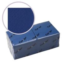 Купить салфетка бумажная синяя 33х33 см 3-слойные 250 шт/уп папирус 1/6 в Москве