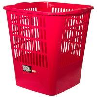 Купить корзина мусорная 16л дхшхв 280х300х320 мм пластик красный bora 1/23 в Москве