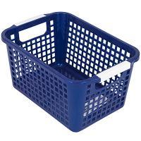 Купить корзинка дхшхв 225х170х125 мм пластик синяя bora 1/48 в Москве