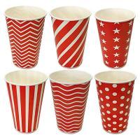 Купить стакан бумажный 300мл d90 мм 1-сл для холодных напитков lollipop pps 1/50/1000 в Москве