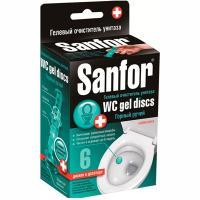 Купить освежитель wc 6 дисков чистоты sanfor шприц горный ручей схз 1/60 в Москве
