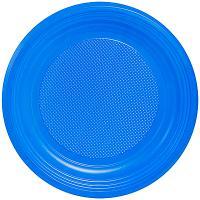 Купить тарелка d205 мм ps синяя ипк 1/100/2000 в Москве