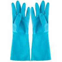 Купить перчатки хозяйственные s комфорт латекс голубые vileda 1/12 в Москве