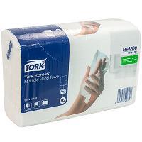 Купить полотенце бумажное листовое 2-сл 190 лист/уп 213х234 мм multifold-сложения tork h2 xpress (арт.471103) натурально-белое sca 1/20 в Москве
