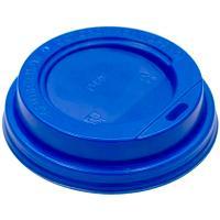 Купить крышка для стакана d80 мм с открытым питейником ps синяя 1/100/1000 в Москве