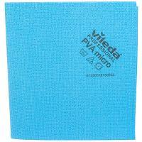Купить салфетка микроволоконная дхш 380х350 мм пва микро голубая vileda 1/5/100 в Москве
