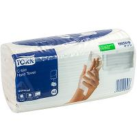 Купить полотенце бумажное листовое 2-сл 120 лист/уп 240х275 мм с-сложения tork h3 universal (арт.471111) натурально-белое sca 1/20 в Москве